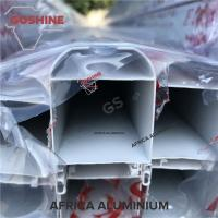 China 6063 T5 series powder coated aluminium profile for window and door on sale