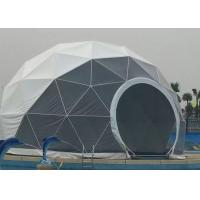 China 25m Diameter Large Geodesic Dome Tent Flame Retardant / UV Resistant For Party on sale