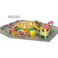Non Toxic Material Indoor Soft Playground Parent - Child Kindergarten Tunnel Combination Manufactures