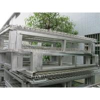 Racking System Metal Pallet Containers With Wire Mesh Storage Boxes 47 * 39