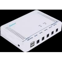 China DC Small Ups Power Supply Built - In 6 × 2000mah Li - Ion Battery , 24W Small Ups Backup on sale