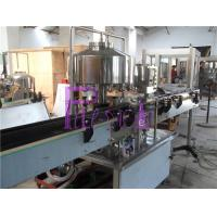 12 Heads Linear Rotary Can Filling Machine For Juice / Milk / Tea Drink Manufactures