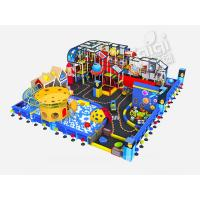 China CE Certefied Indoor Playground Equipment , KaiQi Soft Playground With Colorful Printing on sale