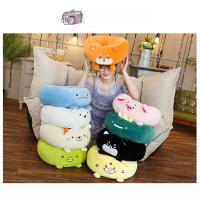 Multifunctional Office Chair Pad , Animal Shape Replacement Chair Cushions Manufactures