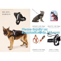 BIG DOG HARNESS, Custom Logo Nylon Rope Pet Dog Leash and Harness Set, size/logo/color no pull easy walk puppy big Dog H Manufactures
