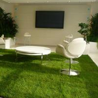 High Ranking Residential Fake Grass Flat Shape Permeable Office Decorative Manufactures