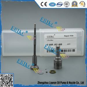 China diesel injetor 0445120059 Bosch repair kits F00RJ03468 injector nozzle DSLA128P1510 fitting kit F00R J03 468 on sale