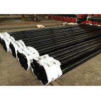 Black Industrial Pipes And Tubes / High Strength Metal Erw Steel Pipe Manufactures