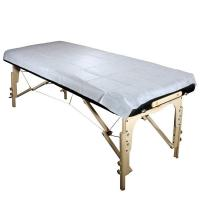 Anti - Bacterial Non Woven Bed Sheet , Medical Bed Sheets For Hospital Manufactures