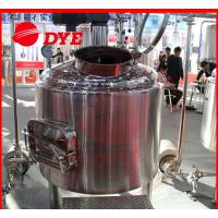SUS304 / SUS316 Beer Brewing Tanks Commercial High Precision Manufactures