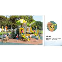 Kids Outdoor Playsets Playground LLDPE Plastic Playground Amusement Park Children Play House Outdoor Equipment Manufactures