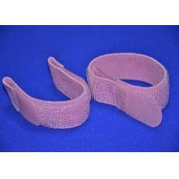 Colored Elastic Hook And Loop Strap 2 Inch With Silk Screen Logo Manufactures