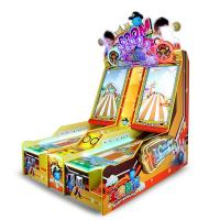 Commercial Small Happy Bowling Video Shooting Ball Gaming Machine For Amusement Park Manufactures