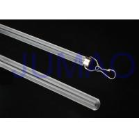 Weather Resistant Flexible Curtain Rod , Durable Safe Bow Window Curtain Rod Manufactures