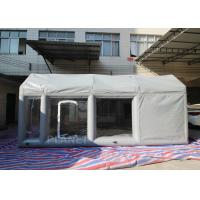 China Outdoor Spray Tan Booth Filter Inflatable Spray Painting Booth For Cars on sale