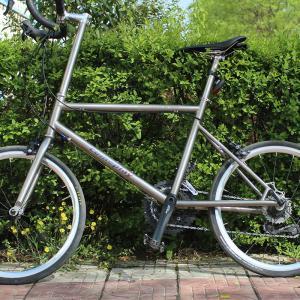 China Ti BMX Titanium Road Bike Frame Titanium Racing Mini Velo Bike Frame on sale