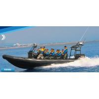 China 32 Feet Inflatable Rib Boat Large Passenger Ship For Army Patrolling / Rescuing on sale
