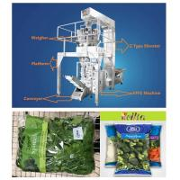 Salad Vegetables Automatic Food Packing MachineMultiheads Weighing High Speed Manufactures