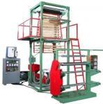 PE EVA Film Extrusion Machine 1 Layer Blown Film Machine Simple Reliable Manufactures
