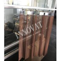 Buy cheap Stainless/ Copper/ Aluminum Decorative Metal Chain Mesh Curtain from wholesalers
