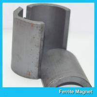 China Arc Segments Permanent Ferrite Magnets For Industrial Motors High Durability on sale
