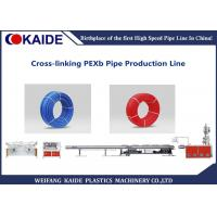 Professional Plastic Pipe Production Line Cross Linked PEX Pipe Making Machine Manufactures