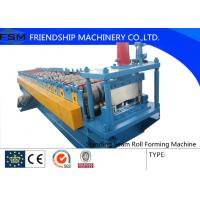 3 Phase Standing Seam Roll Forming Machine With Motor 7.5kw  50hz 380v Manufactures