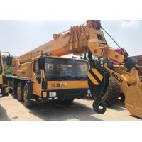 XCMG QY50K2 Second Hand Crane , Yellow Color Used Hydraulic Truck Crane Manufactures
