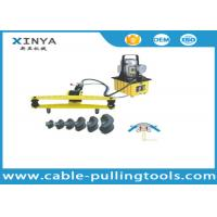 DWG-2D Busbar Processing Machine , Hydraulic Pipe Benders Along With Electric Pump Manufactures