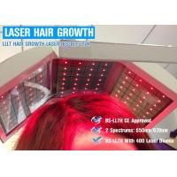 650nm / 670nm Wavelength Hair Laser Growth Machine Energy Adjustable CE ISO13485 Manufactures