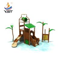 China China Supplier Children Plastic Outdoor Playground Set Slides on sale