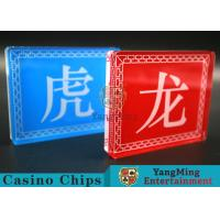 Good Light Transmission Lace Casino Marker Suitable For Entertainment Table Games Manufactures