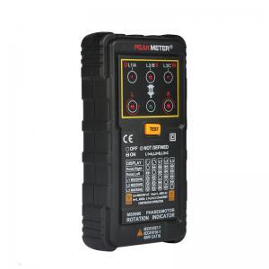 Three Phase Motor Phase Rotation Tester Indicator 120V - 400V AC Operating Voltage Range Manufactures