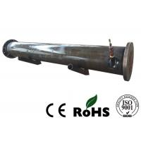 Loose Flange Sea Water Condenser , Shell Type Heat Exchanger R407c Refrigerant Manufactures