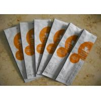 Plastic Tin Tie Coffee Packaging Bags With Valve , Coffee Bean Pouches