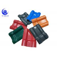 Impact Resistence Synthetic Resin Pvc Roofing Sheets Tile Plastic Wave Manufactures
