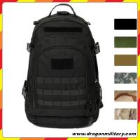 Black Mountaineering Backpack Camping Hiking Rucksack Military Tactical Backpack Manufactures
