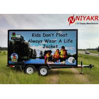 Waterproof Truck Trailer Outdoor Mobile LED Screen For Mobile Advertising Manufactures