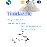 Tinidazole Antibiotic Antitrichomonal Anti - Parasitic Antibacterial Infections Treatment White Powder CAS19387-91-8 Manufactures