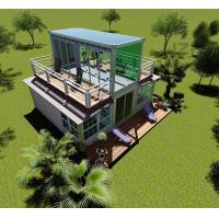 2 story Custom size chinese expandable portable prefab expandable container house Manufactures