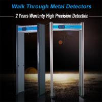 Adjustable Full Body Metal Detectors Walk Through Door Frame 6 Zones AC110V~240V Manufactures