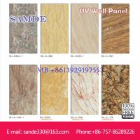 fireproof UV wall board is good than wall paper 2440*1220*6/8/9mm Manufactures