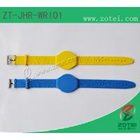 RFID Soft PVC wristband tag ,Watch Band Clasps,Operating frequency 125kHz / 13.56MHz Manufactures