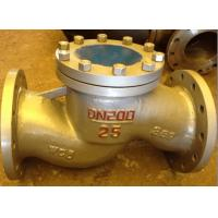 China API Lift Check Valve Stainless Steel / Alloy Steel Materials Long Lifetime on sale