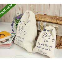 Quality Shopping Bags Custom Made Logo Print Womens Jute Tote Handbags for sale