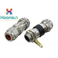 China Nickel Plated Brass BDM Explosion Proof Cable Gland , GRP Metal Cable Gland on sale