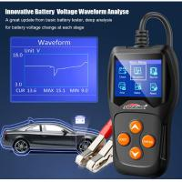 China Hand Held  Car Battery Tester Konnwei Kw600 12 Volt Battery Voltage Tester  Life - Time Upgrade Free on sale