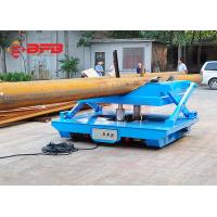 China Rail Mounted Oil Hydraulic Scissor Lift Trolley With Operation Platform on sale
