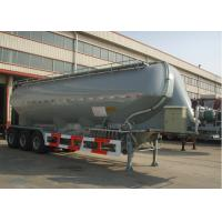 37000L Aluminum Alloy Dry Bulk Pneumatic Tank Trailers with Three axles Manufactures