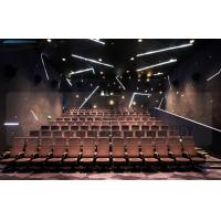 Large Screen 4D Cinema Equipment Project With Pneumatic Motion Chair Manufactures
